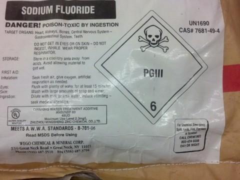 Fluorsilicato de Sodio Grado NSF - 99% & 98% (Polvo)