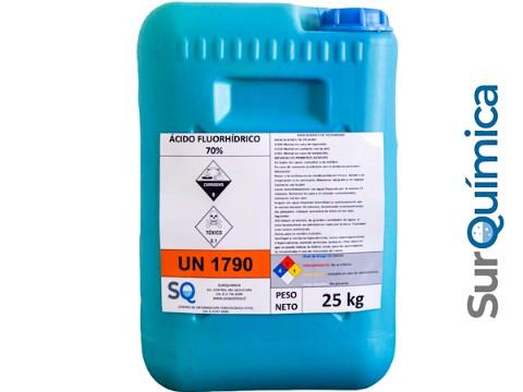 Acido Fluorhídrico 70% - 25kg